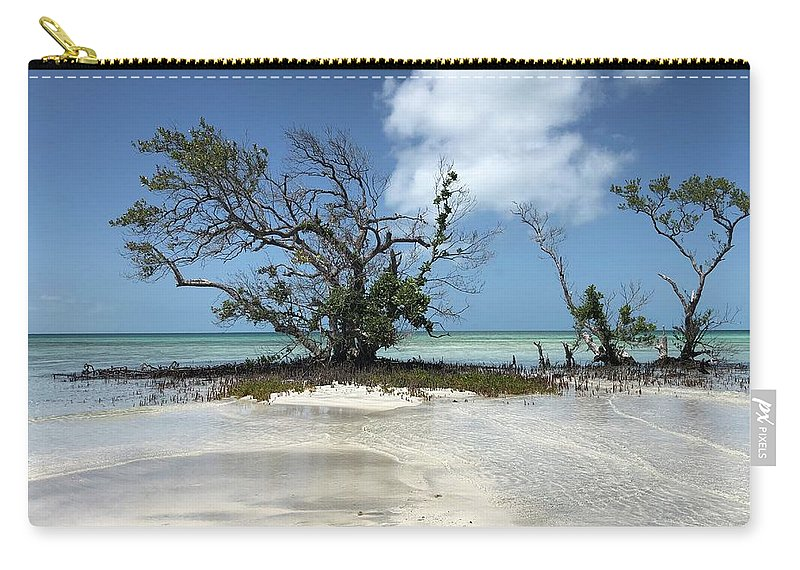 Key West Florida Waters Carry-all Pouch featuring the photograph Key West Waters by Ashley Turner