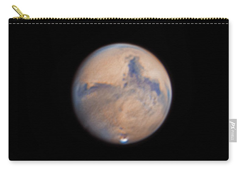 Mars Carry-all Pouch featuring the photograph Mars from 31st October 2020 by Prabhu Astrophotography