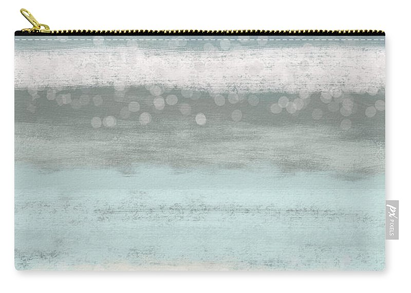 Peaceful Carry-all Pouch featuring the painting Morning Serenity 2- Art by Linda Woods by Linda Woods