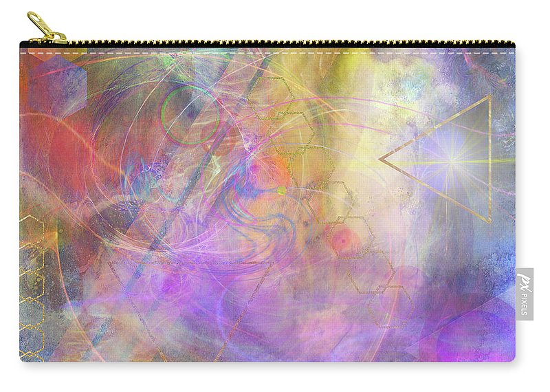 Morning Star Carry-all Pouch featuring the digital art Morning Star by John Robert Beck