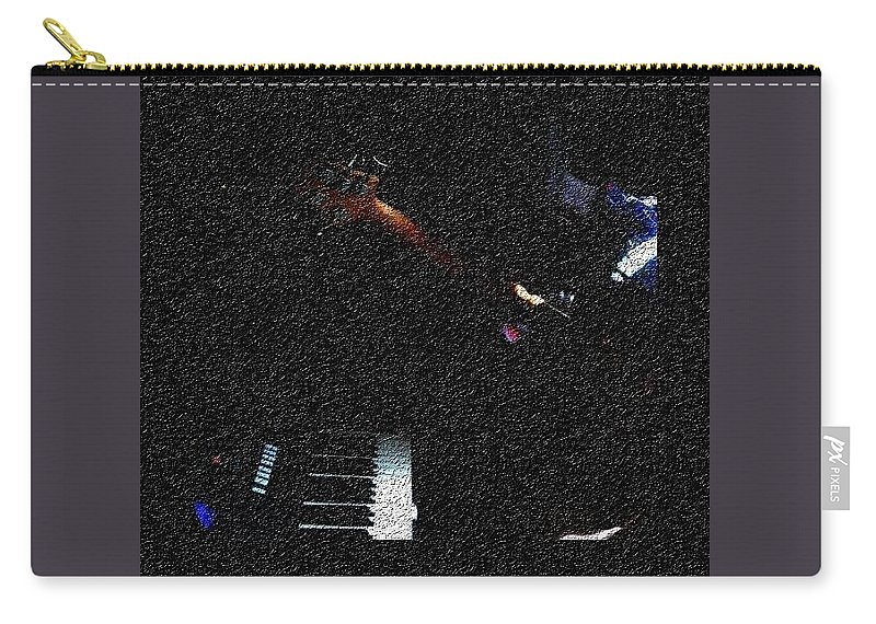 Music Carry-all Pouch featuring the photograph Music is Peace by Chinasa Nwaorisa