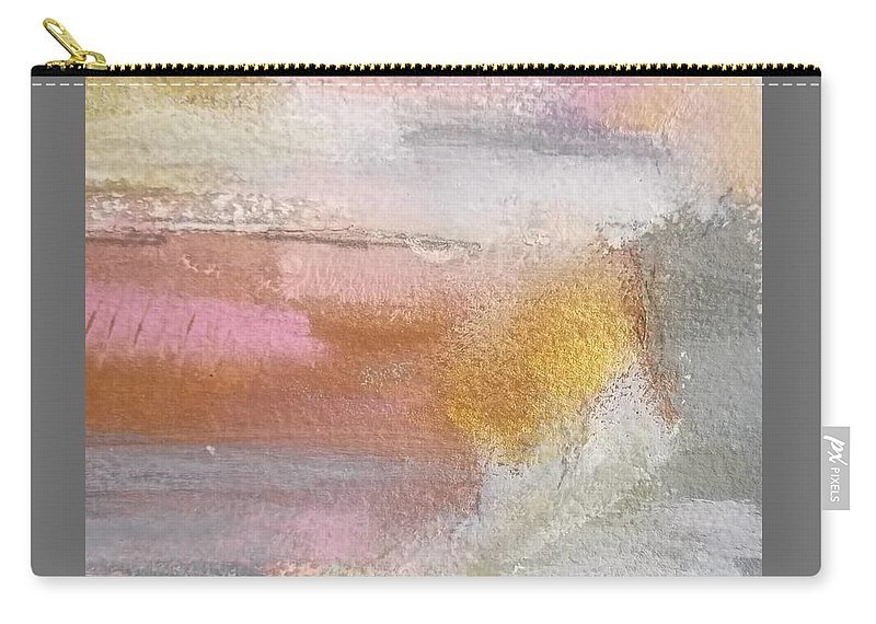 Abstract Carry-all Pouch featuring the painting Nothing Can Dim the Light by Patricia Byron