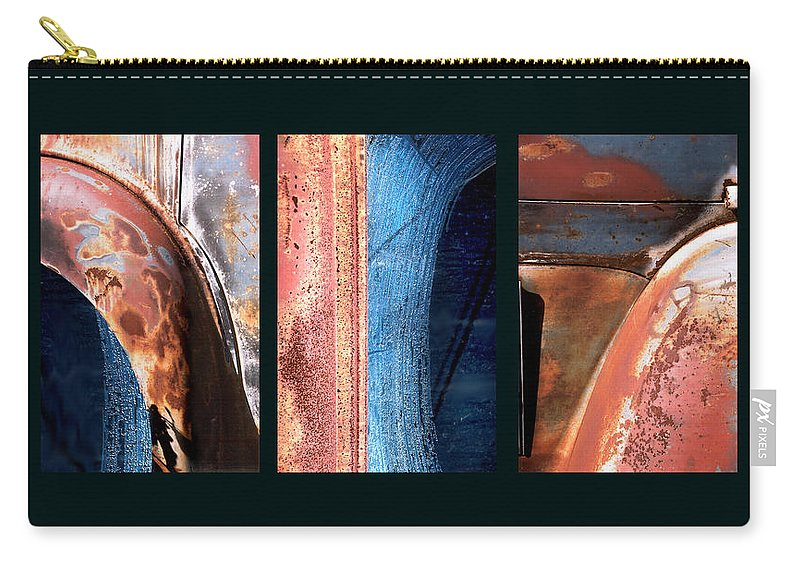 Abstract Carry-all Pouch featuring the photograph Ole Bill by Steve Karol