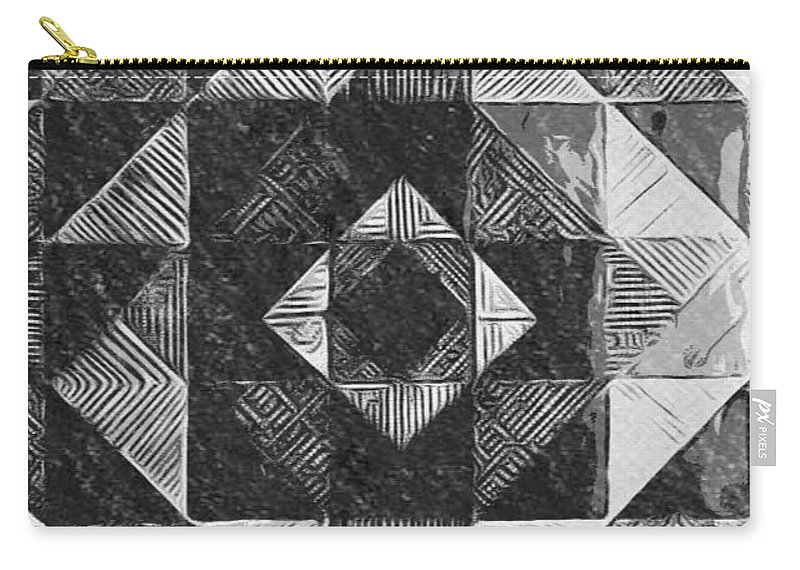 Art Carry-all Pouch featuring the digital art Originated From Within by Andrew Johnson