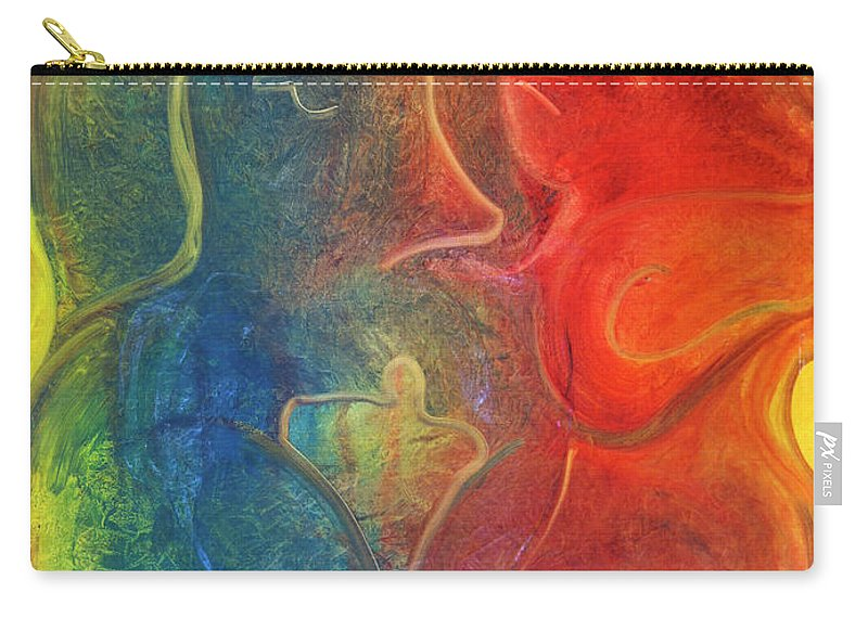 Jack Diamond Carry-all Pouch featuring the painting Passion by Jack Diamond