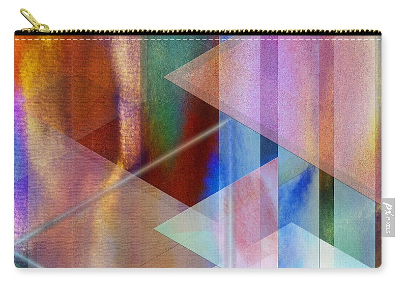 Pastoral Midnight Carry-all Pouch featuring the digital art Pastoral Midnight by John Robert Beck