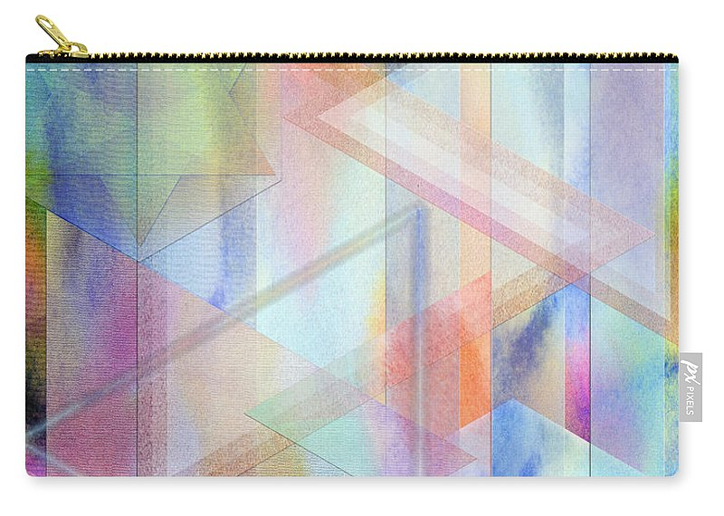 Pastoral Moment Carry-all Pouch featuring the digital art Pastoral Moment by John Robert Beck