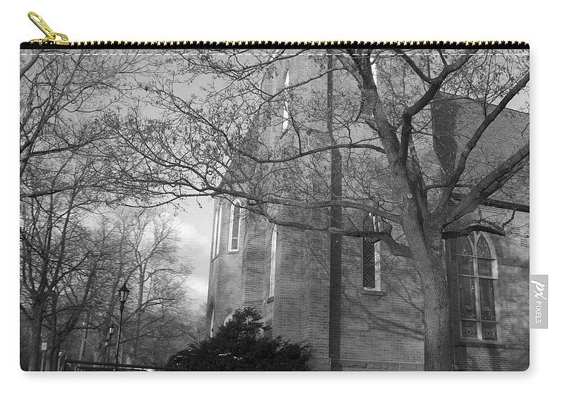 Church Carry-all Pouch featuring the photograph Peaceful by Rhonda Barrett