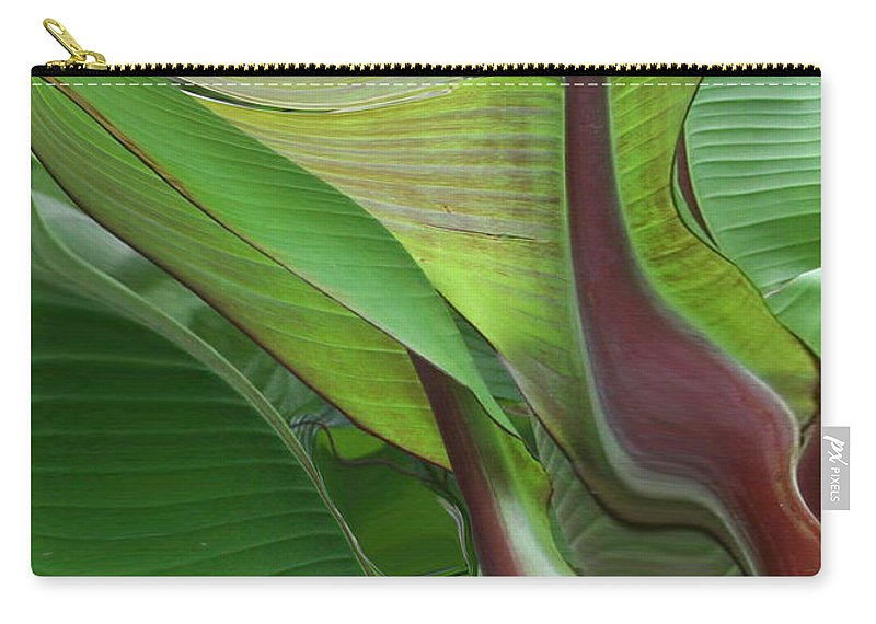 Plant Carry-all Pouch featuring the photograph Plantflow by Linda Sannuti