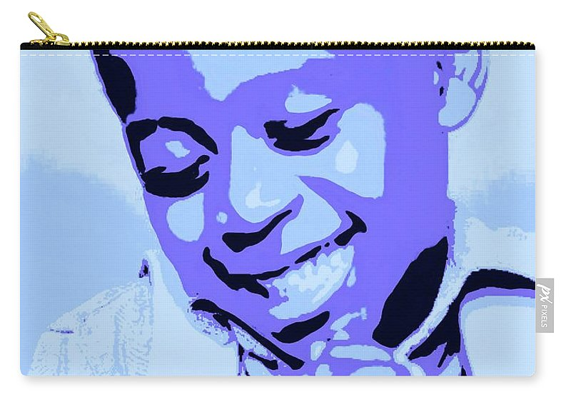 Pray Carry-all Pouch featuring the painting Precious Prayers by Jack Bunds