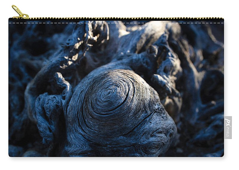 Saguaro Carry-all Pouch featuring the photograph Saguaro Vortex by Kati Astraeir