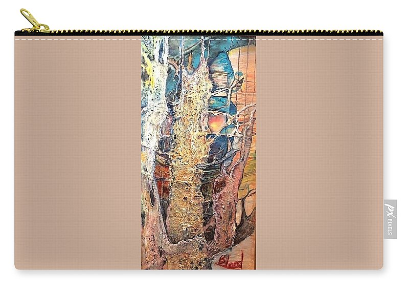 Trees Carry-all Pouch featuring the painting Sapelo by Peggy Blood