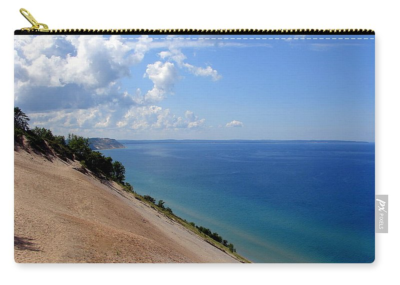 Sleeping Bear Dunes Carry-all Pouch featuring the photograph Sleeping Bear Dunes National Lakeshore Michigan by Michelle Calkins