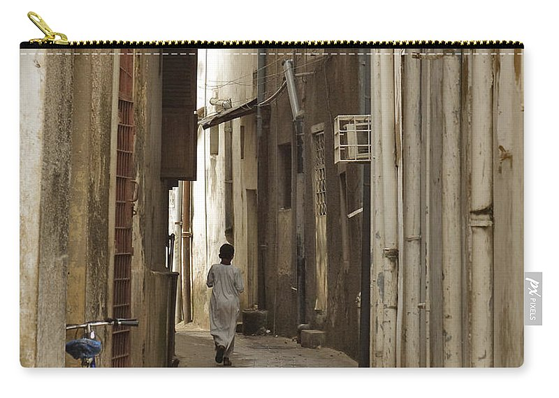 3scape Carry-all Pouch featuring the photograph Stone Town by Adam Romanowicz