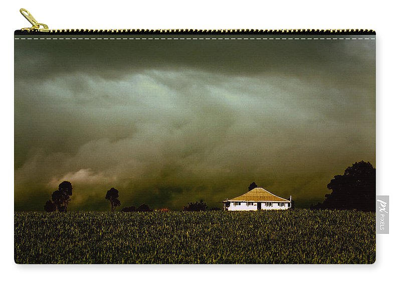 Landscape Carry-all Pouch featuring the photograph Storm on the Rise by Holly Kempe