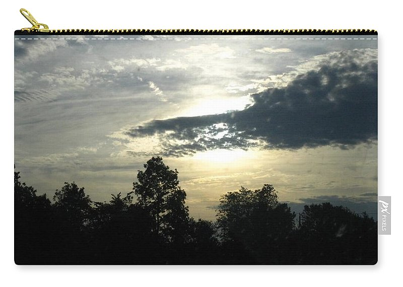 Landscape Carry-all Pouch featuring the photograph Surreal by Rhonda Barrett