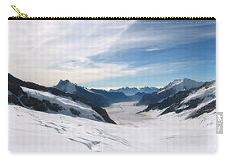 3scape Carry-all Pouch featuring the photograph Swiss Alps by Adam Romanowicz