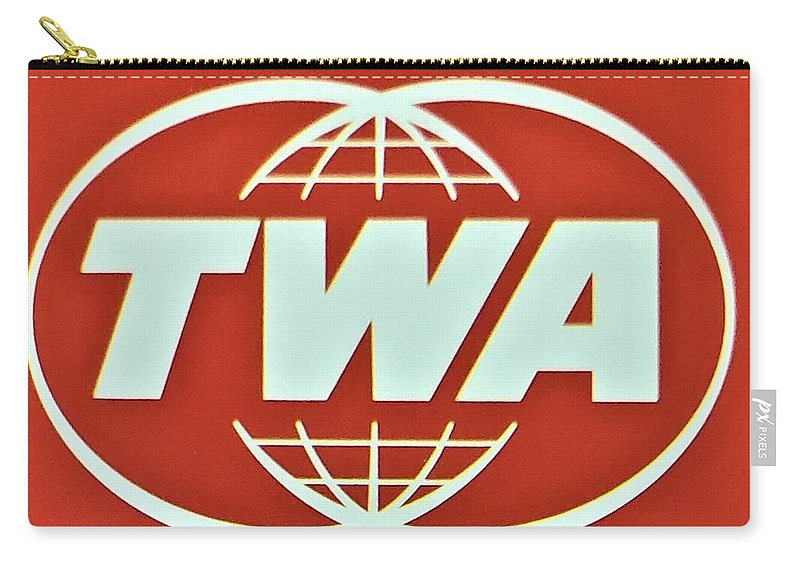Twa Carry-all Pouch featuring the photograph T W A by Rob Hans