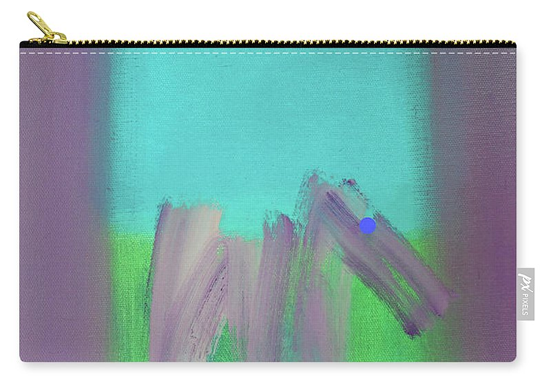 Modern Art Terrier Carry-all Pouch featuring the painting Terrier Field by Charles Stuart
