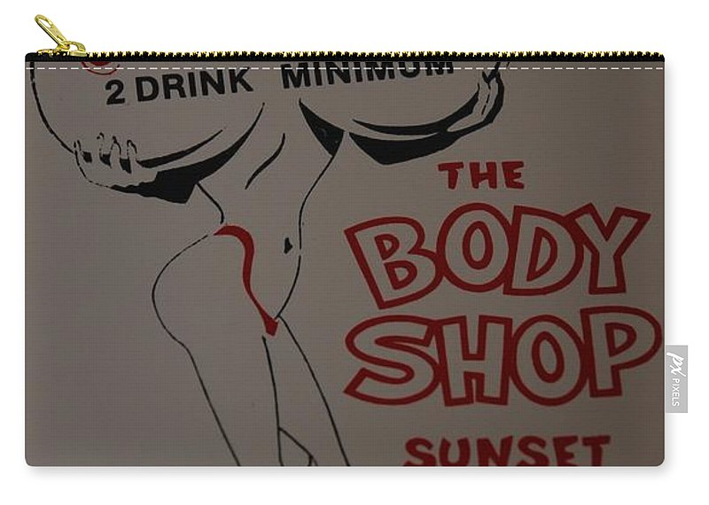 Naked Carry-all Pouch featuring the photograph The Body Shop by Rob Hans