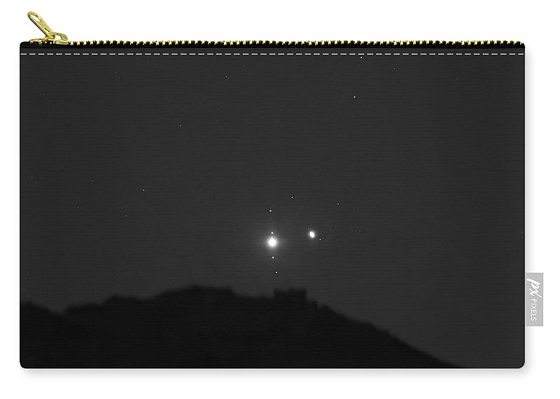 Carry-all Pouch featuring the photograph The Last sight of the Conjunction by Prabhu Astrophotography