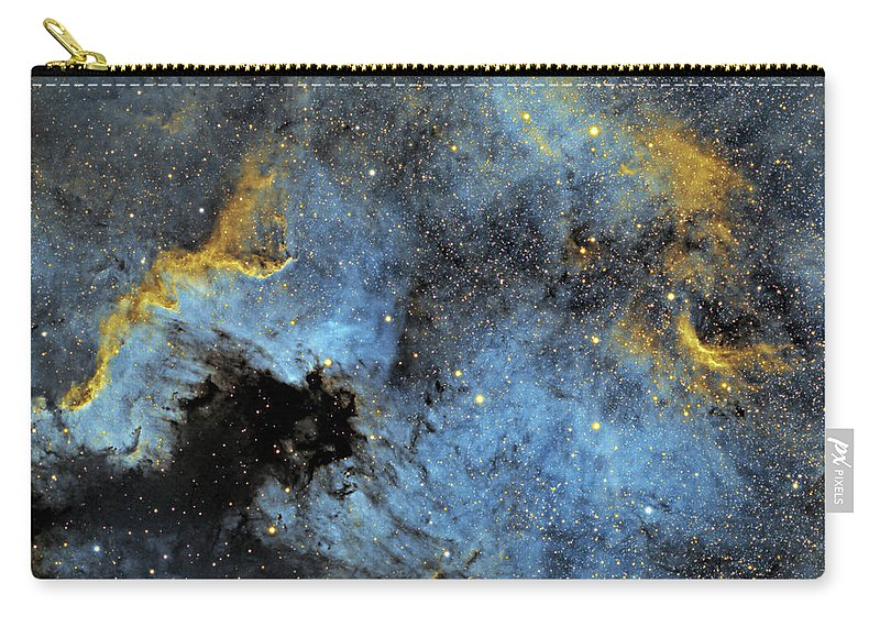 Nebula Carry-all Pouch featuring the photograph The North America Nebula by Prabhu Astrophotography