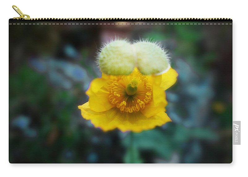 Poppy Carry-all Pouch featuring the painting This Moment by Charles Stuart