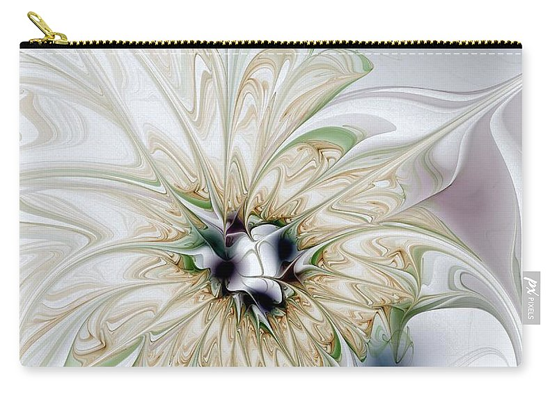 Digital Art Carry-all Pouch featuring the digital art Unfurled by Amanda Moore