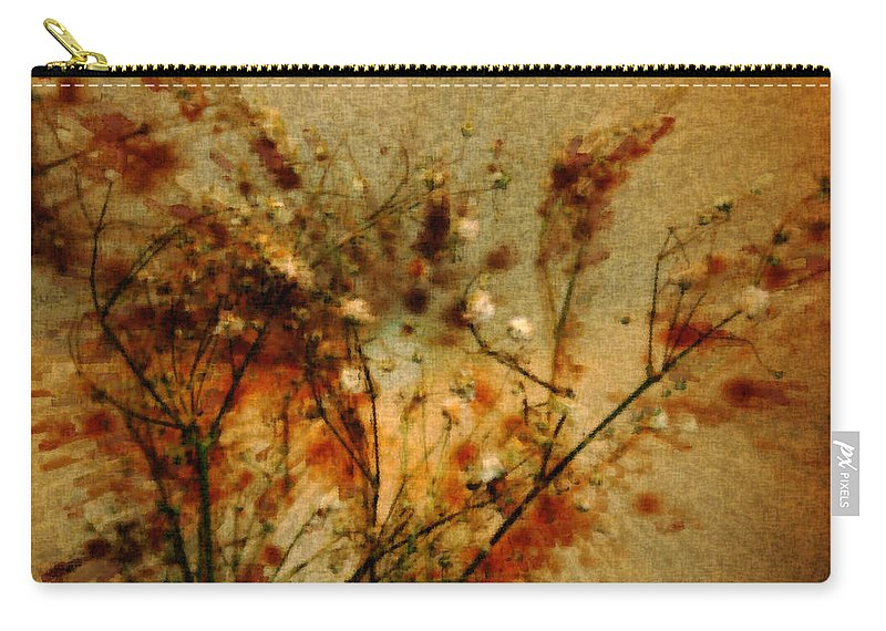 Vintage Art Carry-all Pouch featuring the photograph Vintage by Linda Sannuti