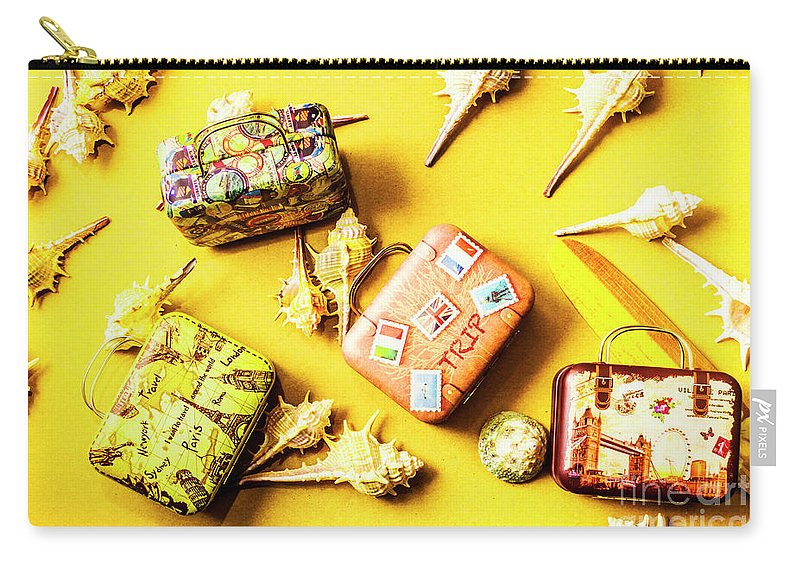 Voyage Carry-all Pouch featuring the photograph Yellow Voyage by Jorgo Photography - Wall Art Gallery