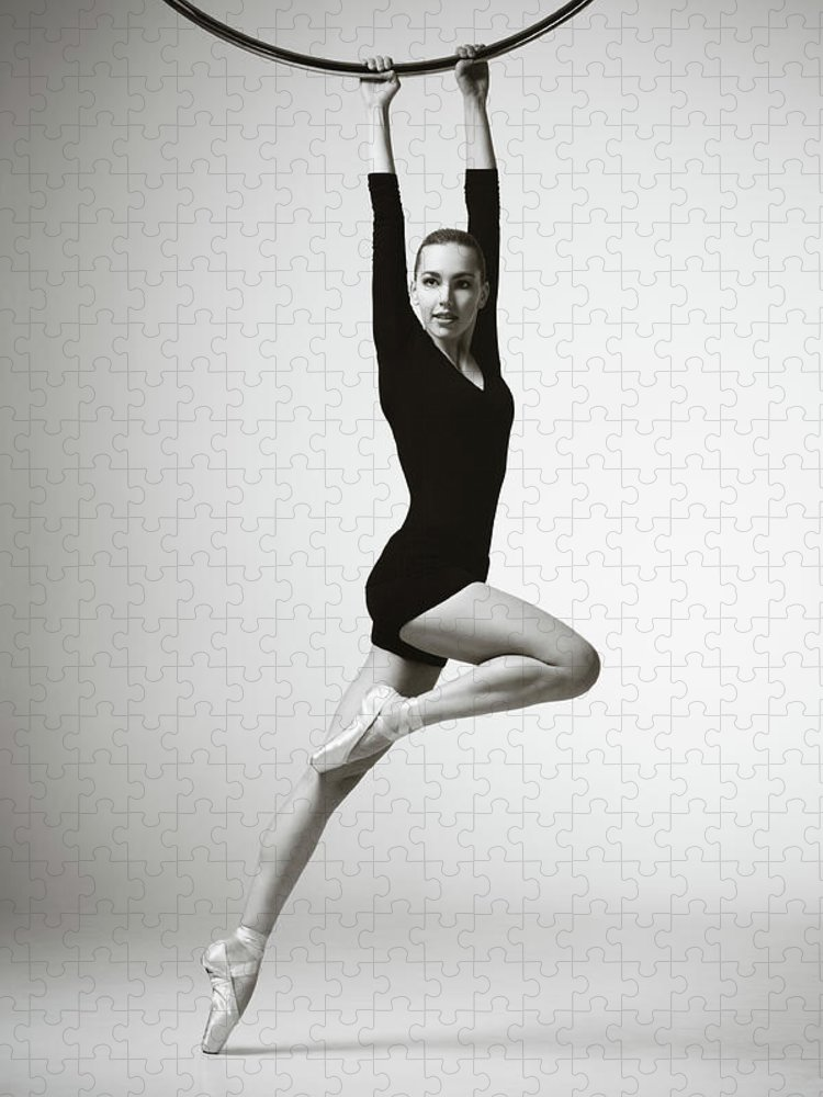 Ballet Dancer Puzzle featuring the photograph Modern Dancer by Lambada