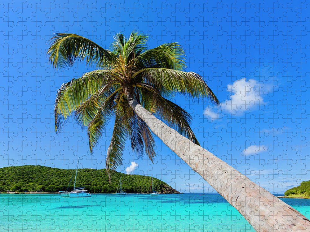 Water's Edge Puzzle featuring the photograph Salt Whistle Bay, Mayreau by Argalis