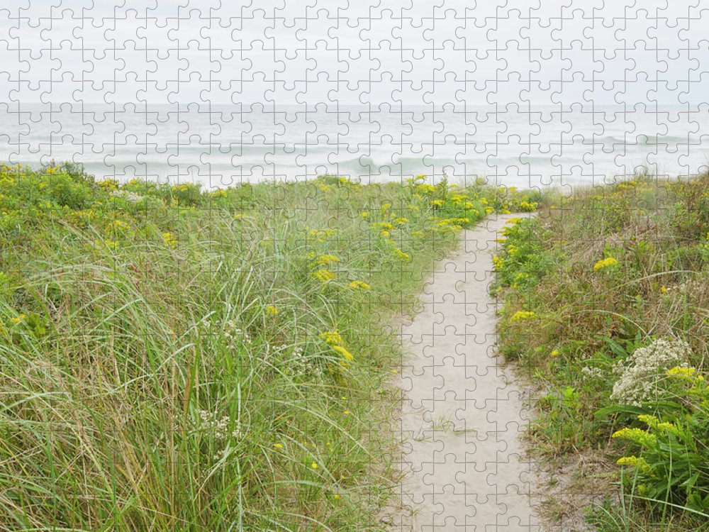 Tranquility Puzzle featuring the photograph Usa, Massachusetts, Nantucket Island by Chuck Plante