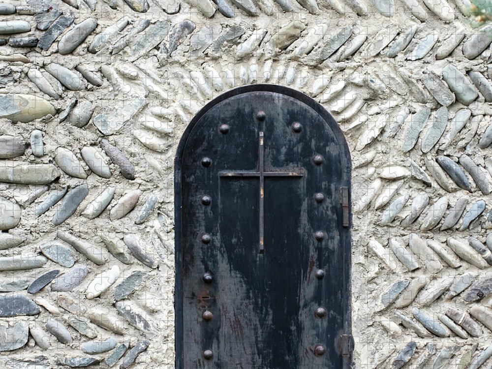 Arch Puzzle featuring the photograph Medieval Door by ????? ???????