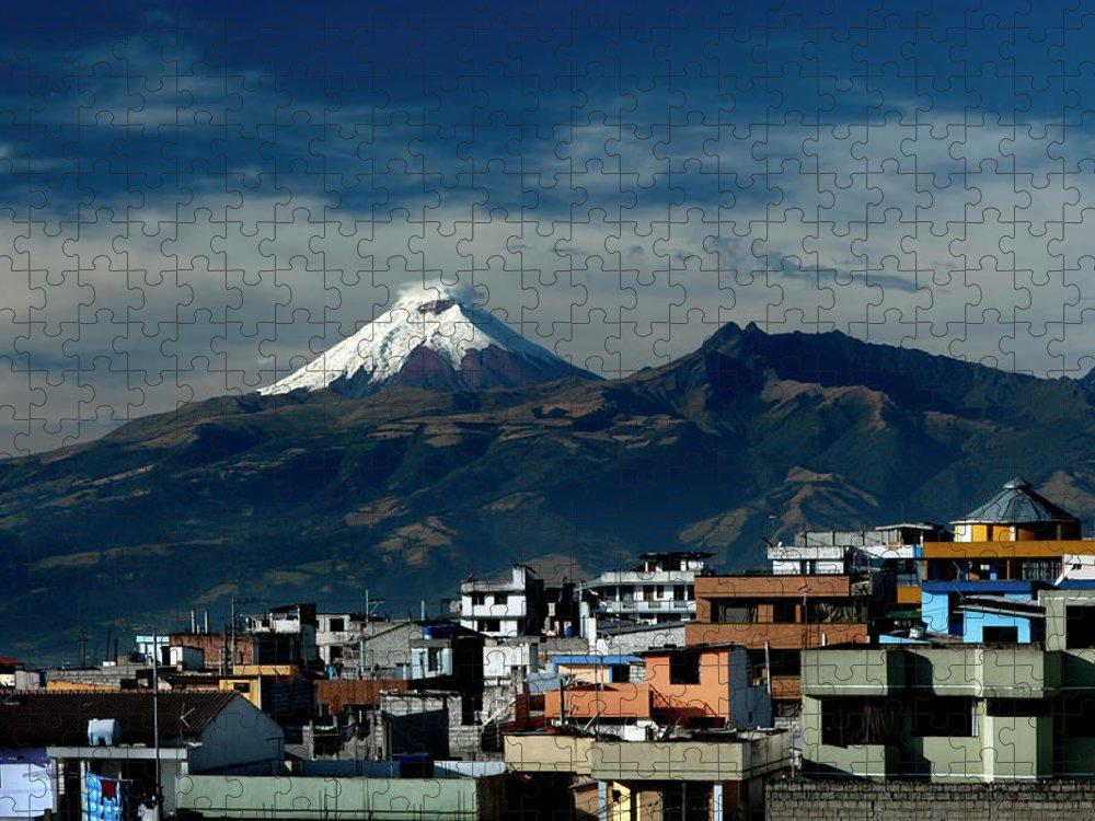 Scenics Puzzle featuring the photograph Quito, Ecuador by John Coletti