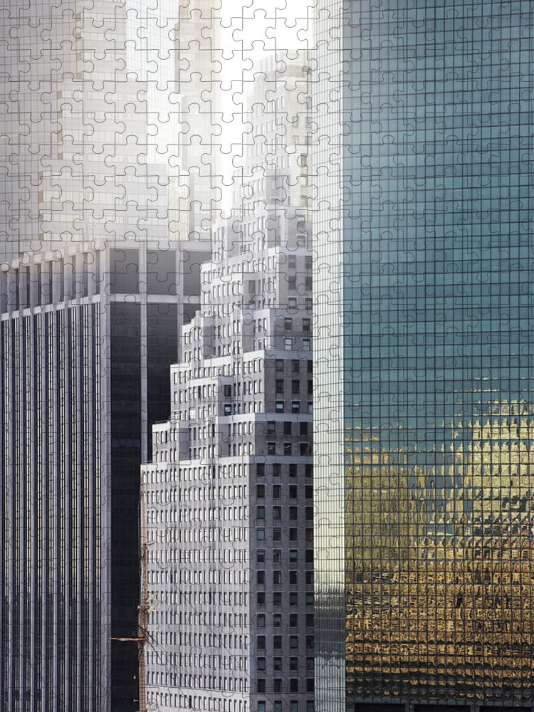 Tranquility Puzzle featuring the photograph New York by Henrik Sorensen