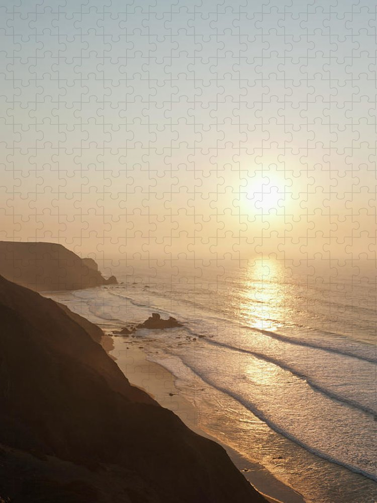Algarve Puzzle featuring the photograph Portugal, Algarve, Sagres, View Of by Westend61