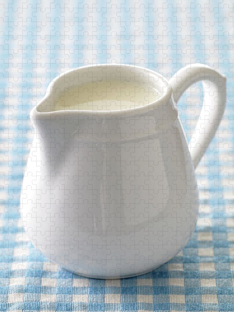 Single Object Puzzle featuring the photograph A Jug Of Cream by Riou