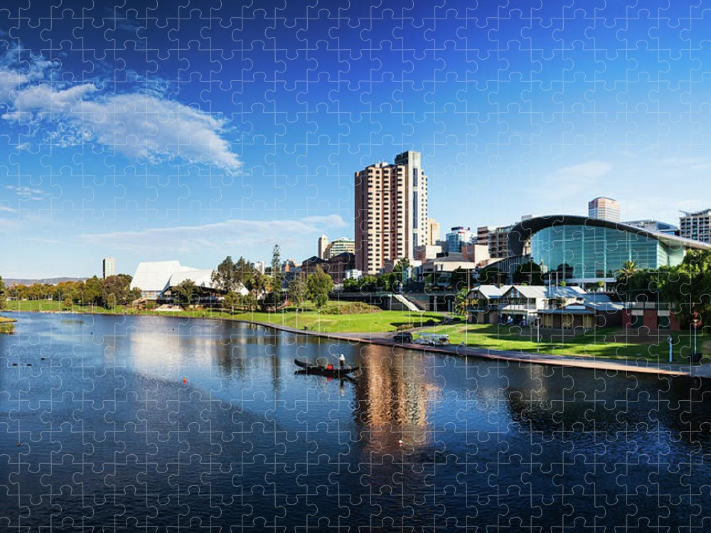 Outdoors Puzzle featuring the photograph Adelaide, South Australia by Robert Lang Photography