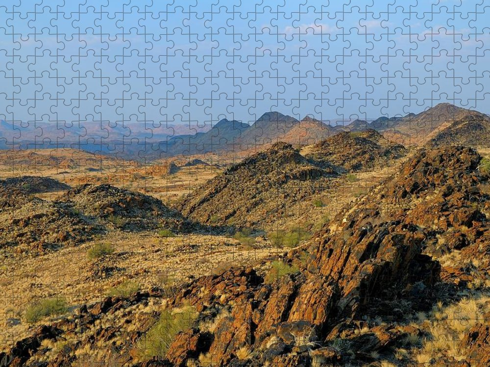 Scenics Puzzle featuring the photograph African Scenery by Vittorio Ricci - Italy