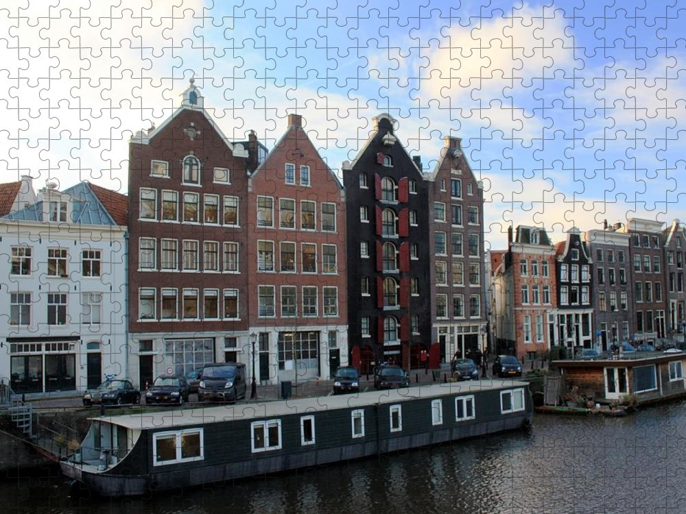 Tranquility Puzzle featuring the photograph Amsterdam by J.castro