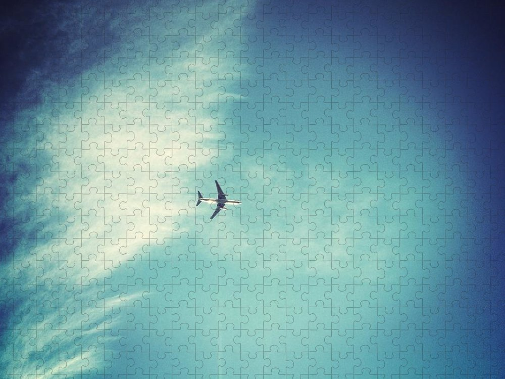 Directly Below Puzzle featuring the photograph Flying High by © Peter Lourenco