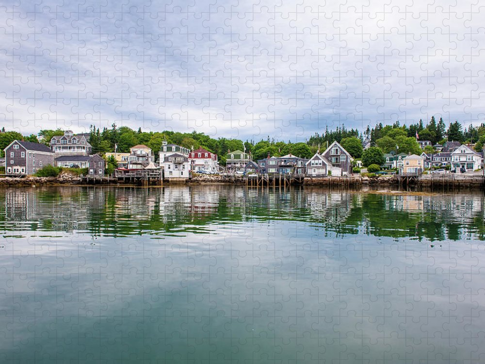 Town Puzzle featuring the photograph Island Village by Edwin Remsberg