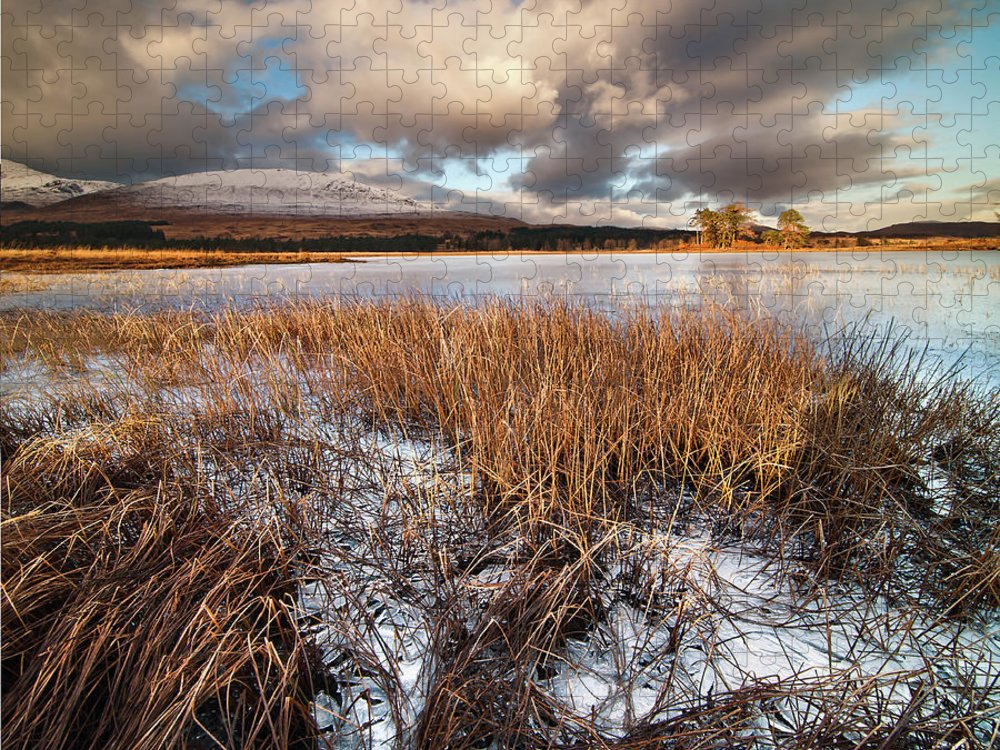 Tranquility Puzzle featuring the photograph Loch Tulla by Image By Peter Ribbeck