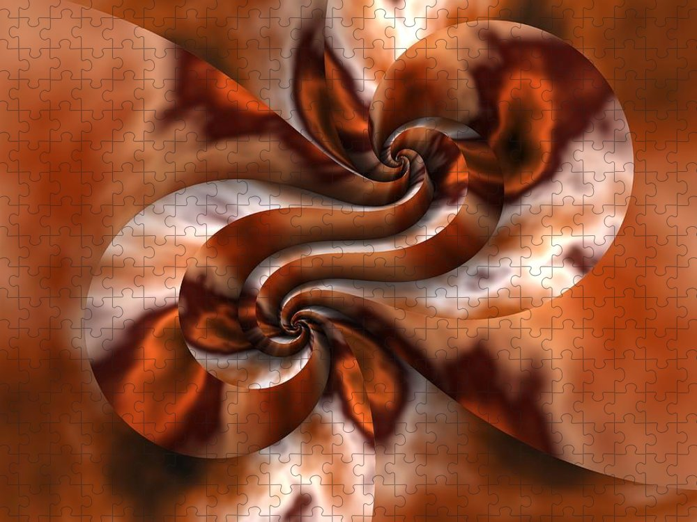 Fractal Puzzle featuring the digital art Maelstrom by Lyle Hatch