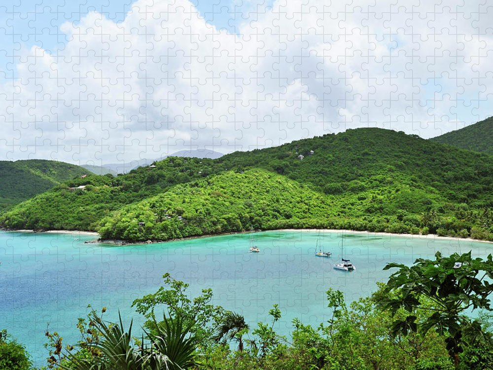 Scenics Puzzle featuring the photograph Maho Bay, St. John by Driendl Group