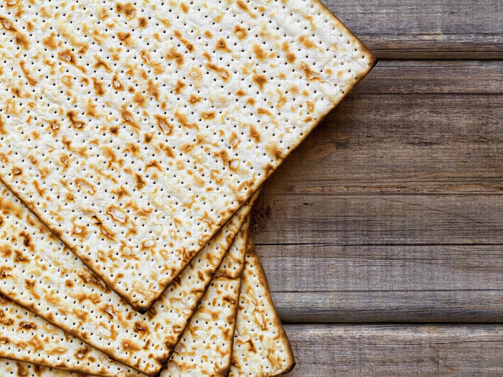 Celebration Puzzle featuring the photograph Matza Background by Vlad Fishman
