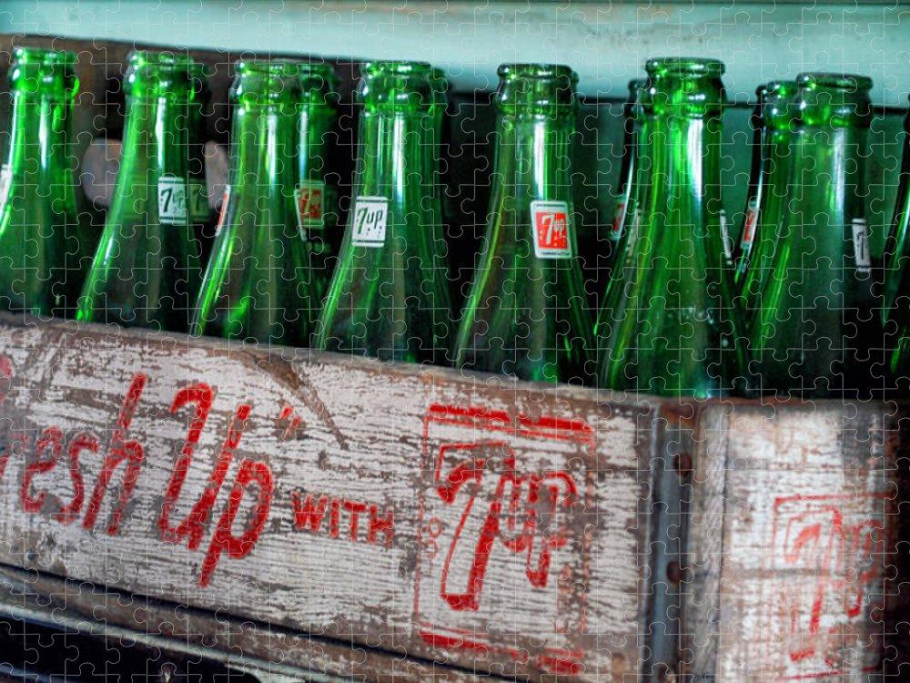 Up bottle 7 old Antique 7up