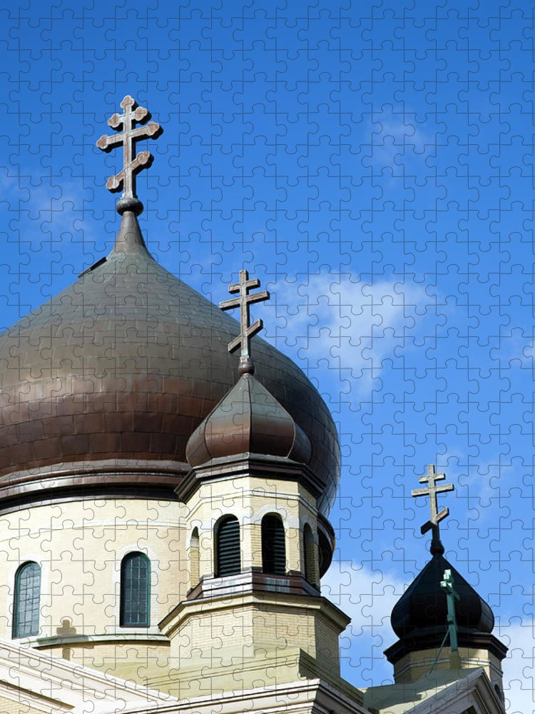 Outdoors Puzzle featuring the photograph Orthodox Church by Snap Decision