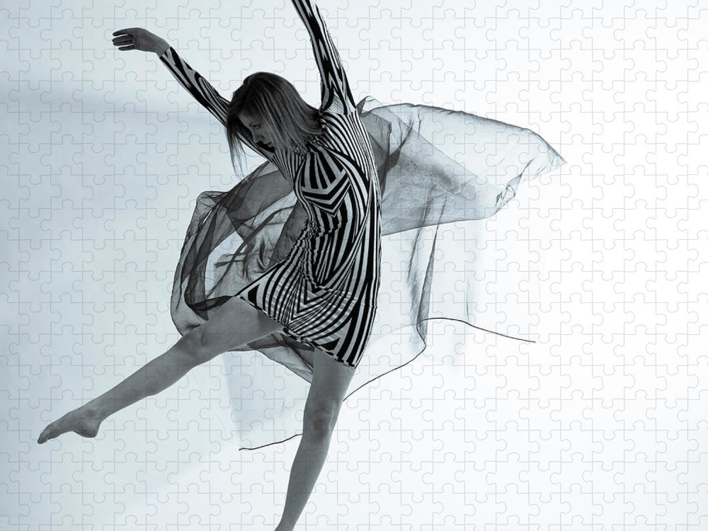 Ballet Dancer Puzzle featuring the photograph Photofusion Shoot Jan 2013 by Maya De Almeida Araujo